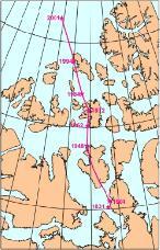 Desplazamiento Polo Norte
