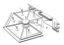 Isla artificial electricidad
